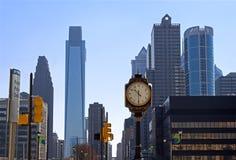 Skyline de Philadelphfia fotos de stock royalty free