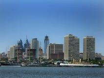 Skyline de Philadelphfia imagem de stock royalty free