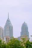 Skyline de Philadelphfia Imagens de Stock