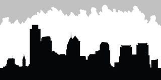 Skyline de Phladelphia Imagens de Stock Royalty Free