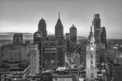 Skyline de Phladelphia Fotografia de Stock Royalty Free