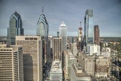 Skyline de Phladelphia Fotos de Stock Royalty Free