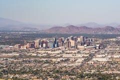 Skyline de Phoenix o Arizona imagem de stock royalty free