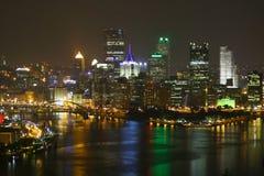 Skyline de Pittsburgh Imagens de Stock