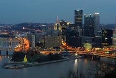 Skyline de Pittsburgh imagem de stock royalty free