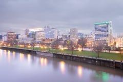 Skyline de Portland imagem de stock