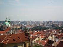 Skyline de Praga Foto de Stock Royalty Free
