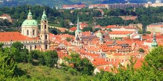 Skyline de Praga Imagem de Stock Royalty Free