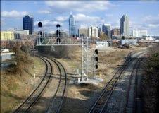 Skyline de Raleigh Fotografia de Stock