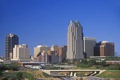 Skyline de Raleigh, NC Fotografia de Stock Royalty Free