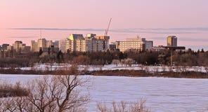 Skyline de Regina Fotos de Stock