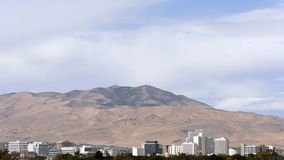 Skyline de Reno Fotos de Stock