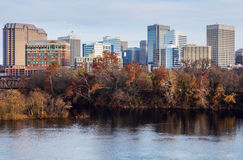 Skyline de Richmond Imagem de Stock Royalty Free