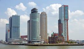 Skyline de Rotterdam Fotos de Stock Royalty Free
