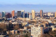 Skyline de Rotterdam Foto de Stock Royalty Free