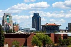 Skyline de Sacramento imagens de stock