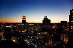 Skyline de San Antonio imagens de stock