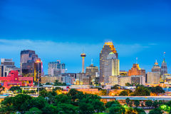 Skyline de San Antonio Texas Foto de Stock
