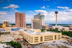 Skyline de San Antonio, Texas fotografia de stock