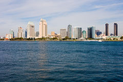Skyline de San Diego foto de stock royalty free