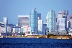 Skyline de San Diego Foto de Stock