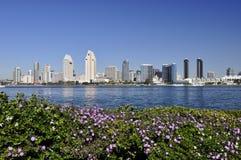 Skyline de San Diego Fotos de Stock