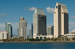 Skyline de San Diego Fotos de Stock