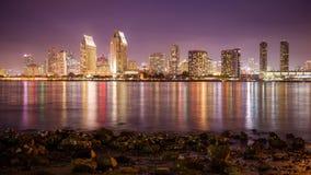 Skyline de San Diego video estoque
