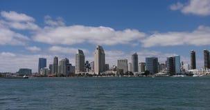 Skyline de San Diego em Califórnia vídeos de arquivo