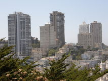 Skyline de San Francisco Foto de Stock