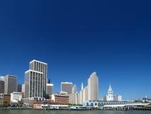 Skyline de San Francisco Imagens de Stock Royalty Free