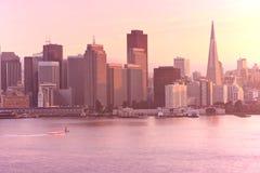 Skyline de San Francisco imagens de stock