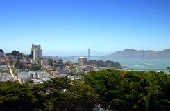 Skyline de San Francisco fotografia de stock