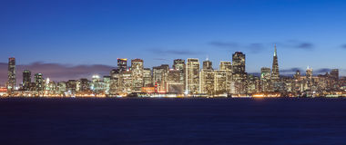 Skyline de San Francisco Fotografia de Stock Royalty Free