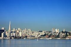 Skyline de San Francisco Fotografia de Stock Royalty Free