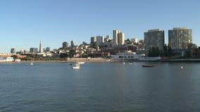 Skyline de San Francisco video estoque