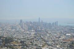 Skyline de San Francisco Curso feriados Arquitecture 30 de junho de 2017 San Francisco Imagens de Stock Royalty Free