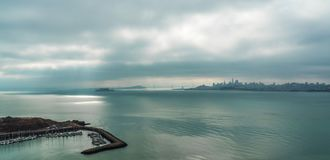 Skyline de San Francisco foto de stock royalty free