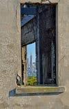 Skyline de San Francisco quadro Imagens de Stock