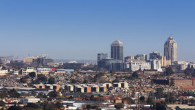 Skyline de Sandton Foto de Stock Royalty Free