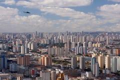 Skyline de Sao Paulo fotografia de stock royalty free