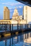 Skyline de Sao Paulo vista de Sesc 24 de maio Imagens de Stock Royalty Free