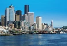 Skyline de Seattle. Imagens de Stock Royalty Free
