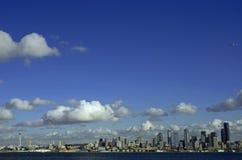 Skyline de Seattle Imagem de Stock Royalty Free