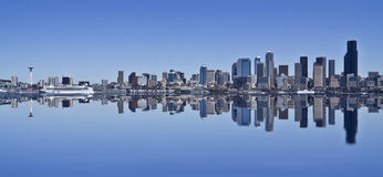 Skyline de Seattle Fotos de Stock Royalty Free