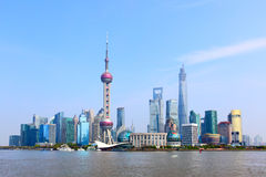 Skyline de Shanghai Foto de Stock Royalty Free