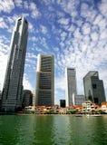 Skyline de Singapore Fotos de Stock Royalty Free