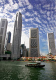 Skyline de Singapore Foto de Stock Royalty Free