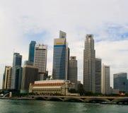 Skyline de Singapore Imagens de Stock