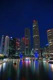Skyline de Singapore Fotografia de Stock Royalty Free